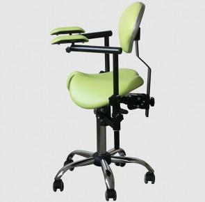 SADDLE 2D Крісло (стілець) лікаря-стоматолога для роботи з мікроскопом