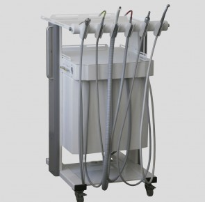 COMBI CART Mobile instrument block of dentist and assistant
