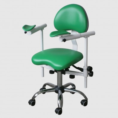 ENDO SLIDE Doctor's stool for working with a microscope